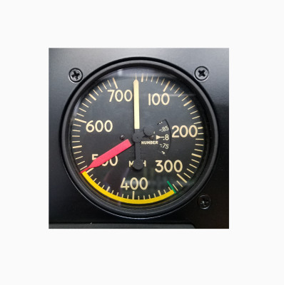 Air Speed Indicator M.P.H. vs. Knots
